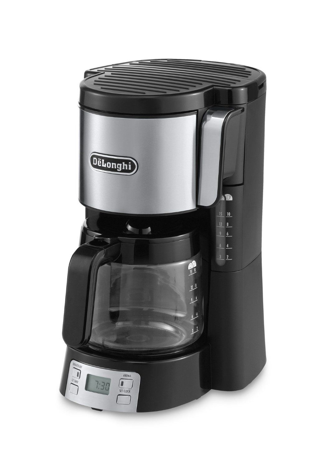 delonghi drip coffee machine icm15250. Black Bedroom Furniture Sets. Home Design Ideas