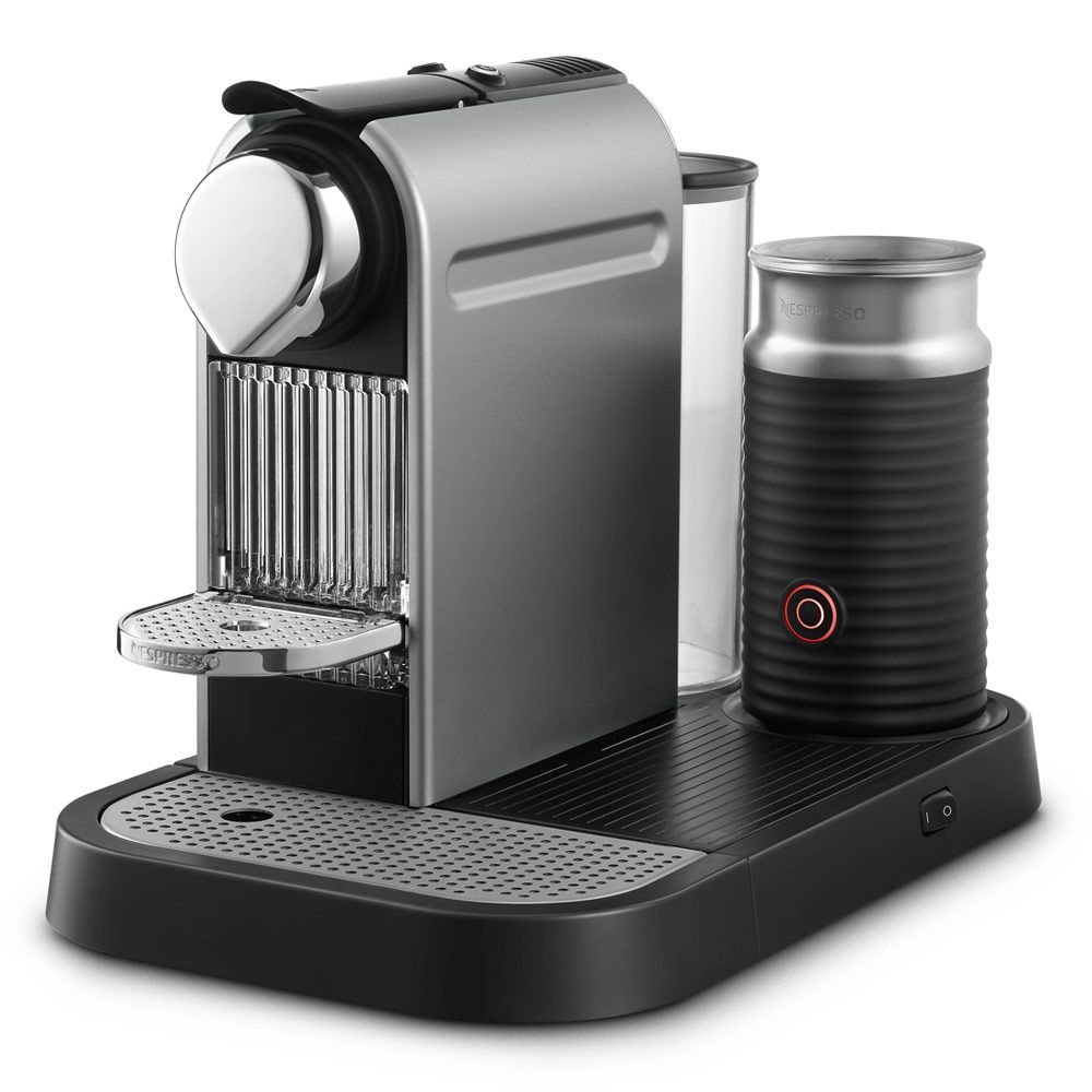 Krups Coffee Maker And Frother : Nespresso Citiz by Krups