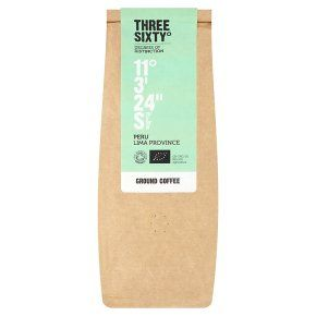 Three Sixty° Peru Lima Province ground coffee 250g